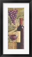 Framed French Vineyard II