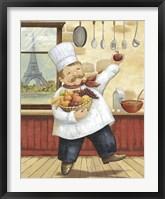 Framed Happy Chef I