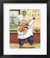 Framed Happy Chef I