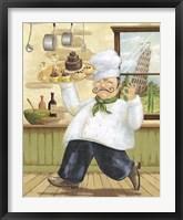 Framed Happy Chef II