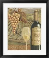 Framed French Vineyard VI