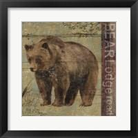 Framed Northern Wildlife IV