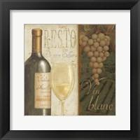 Framed Wine List II