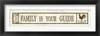 Framed Weathervane Wisdom IV