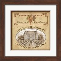 Framed Vintage Labels II