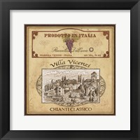 Vintage Labels IV Framed Print