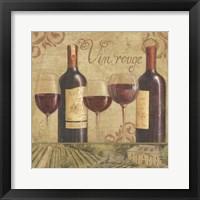 Framed Vineyard Flavor II
