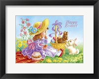Framed Happy Easter