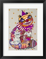 Framed Clown 3