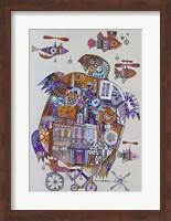 Framed Turtle 3
