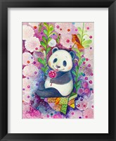 Framed Candy Magic Panda