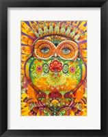Framed King Owl