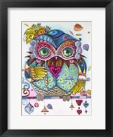 Framed Owl From Venice 1
