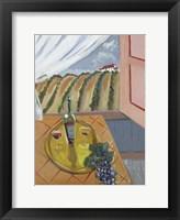 Framed Vineyard View