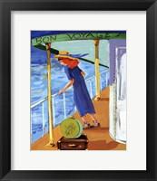 Framed Bon Voyage