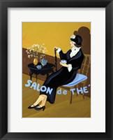 Framed Salon De The I
