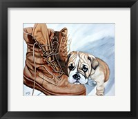 Framed Boots Bulldog