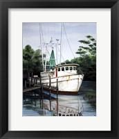 Framed Jax Shrimp Boat