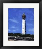 Framed Aruba Lighthouse