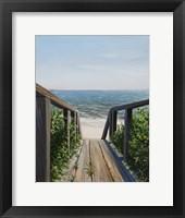 Framed Beach Walk Way
