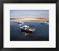 Framed Cape Cod Fishing Boats