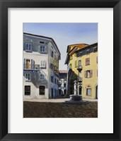 Framed Italy Street