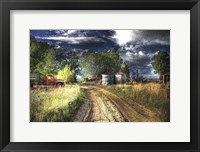 Framed Farm Road