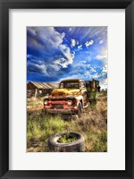 Framed Farm Truck