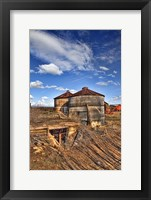 Framed Grain Bins