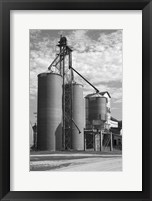 Framed Grain Silos