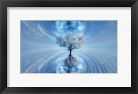 Framed Ice Tree