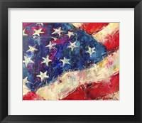 Framed Flag