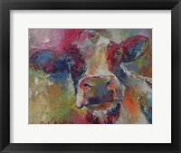 Framed Cow 4