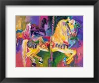 Framed Carousel Horse 2