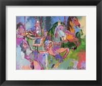 Framed Carousel Horse 3