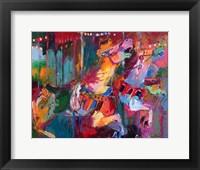 Framed Carousel Horse 4