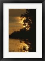 Framed Lake Memphamagog 1