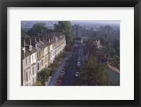 Framed London Row of Houses