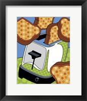 Framed Flying Toast
