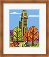 Framed Cathedral Of Learning Pittsburgh