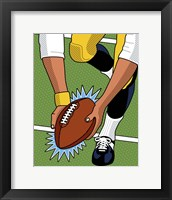 Framed Franco Immaculate Reception