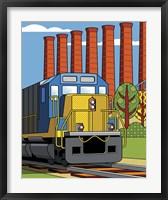 Framed Homestead Steel Mill Stacks