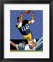 Framed Lynn Swann Super Bowl Catch
