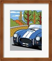 Framed Pittsburgh Vintage Grand Prix