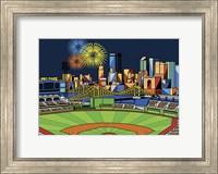 Framed PNC Park Fireworks Pittsburgh
