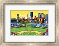 Framed PNC Park Pittsburgh