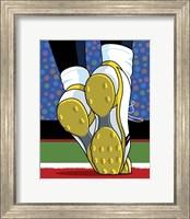 Framed Santonio Holmes Super Bowl Catch