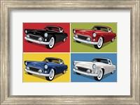 Framed 1956 Thunderbird Classic Car