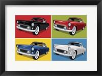 1956 Thunderbird Classic Car Framed Print
