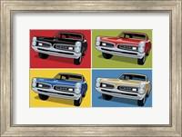 Framed 1967 GTO Classic Car